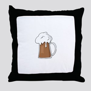 Guiness Throw Pillow