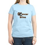 Cancer Bites Women's Light T-Shirt