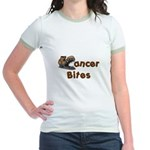 Cancer Bites Jr. Ringer T-Shirt