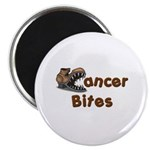 Cancer Bites Magnet