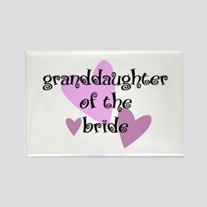 Grand Daughter of the Bride Rectangle Magnet