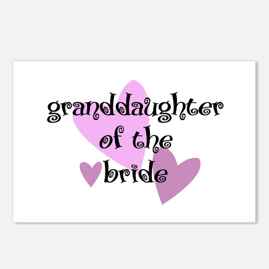 Grand Daughter of the Bride Postcards (Package of
