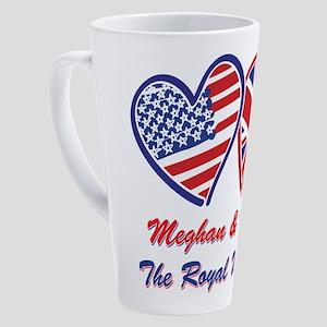 The Royal Wedding 17 oz Latte Mug