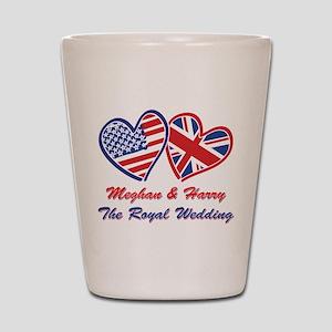 The Royal Wedding Shot Glass