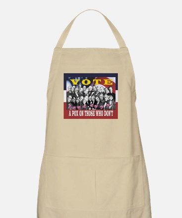 VOTE! OR A POX ON YOU BBQ Apron