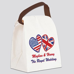 The Royal Wedding Canvas Lunch Bag