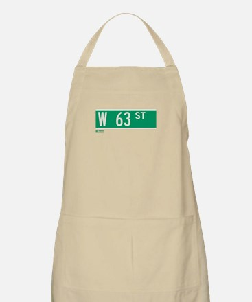 63rd Street in NY BBQ Apron