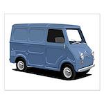 Goggomobil Transporter Small Poster