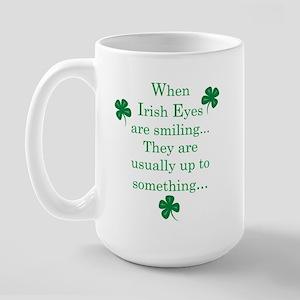 Irish Eyes Large Mug