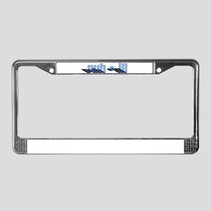 Puh_ill Shadow License Plate Frame