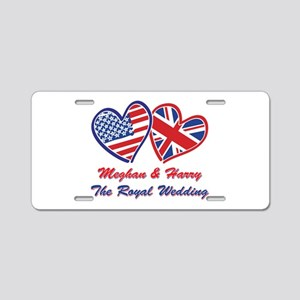 The Royal Wedding Aluminum License Plate