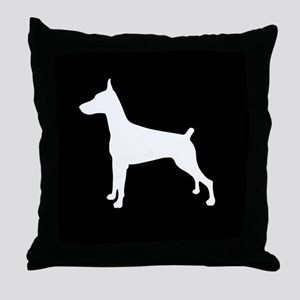 Dobe Silhouette Throw Pillow