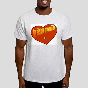 Jag Älskar Morfar Light T-Shirt