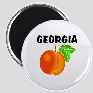Georgia Peach Magnets
