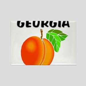 Georgia Peach Magnets