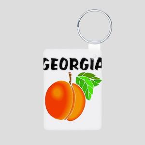 Georgia Peach Keychains
