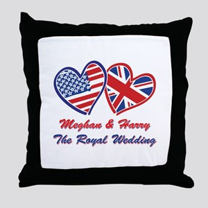 The Royal Wedding Throw Pillow