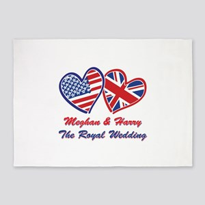 The Royal Wedding 5'x7'Area Rug