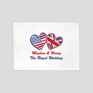 The Royal Wedding 5'x7'Area Rug