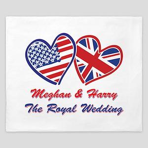 The Royal Wedding King Duvet