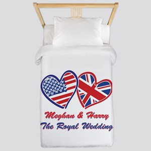 The Royal Wedding Twin Duvet Cover