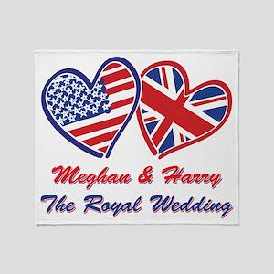 The Royal Wedding Throw Blanket
