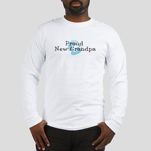 Proud New Grandpa B Long Sleeve T-Shirt