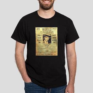 Wanted Creepy Karpis Dark T-Shirt
