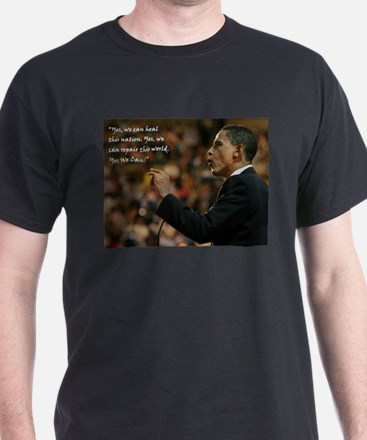 Obama Yes, we can heal this country T-Shirt