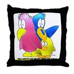 NOW WHAT'S OUR MEMORY VERSE? Throw Pillow