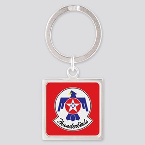 Air Force Thunderbirds Square Keychain