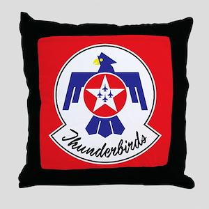 Air Force Thunderbirds Throw Pillow