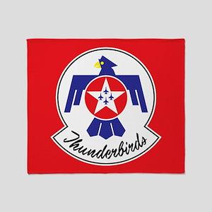 Air Force Thunderbirds Throw Blanket