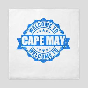 Summer cape may- new jersey Queen Duvet
