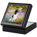 Monet's garden & Springer Keepsake Box