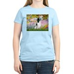Monet's garden & Springer Women's Light T-Shirt