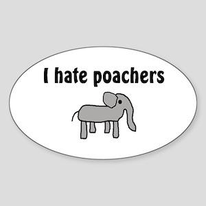 Wildlife Activist Oval Sticker