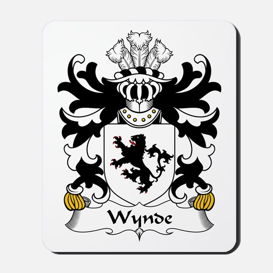 Wynde (or Weind) Mousepad