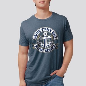 United States Navy Silent S Mens Tri-blend T-Shirt