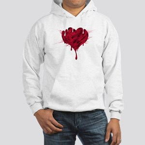 Bloody Heart Hooded Sweatshirt