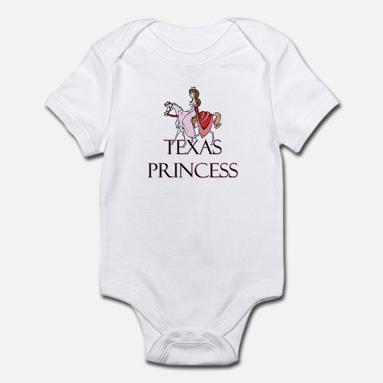Texas Princess Infant Bodysuit