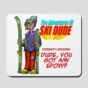 Ski Dude Mousepad