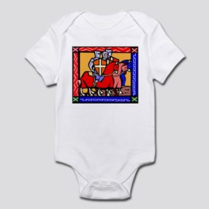 Knights Templar Baby Light Bodysuit