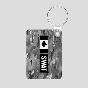Canadian SWAT: Urban Camou Aluminum Photo Keychain