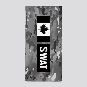 Canadian SWAT: Urban Camouflage Beach Towel