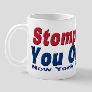 NY GIANTS Stompin you out Mug