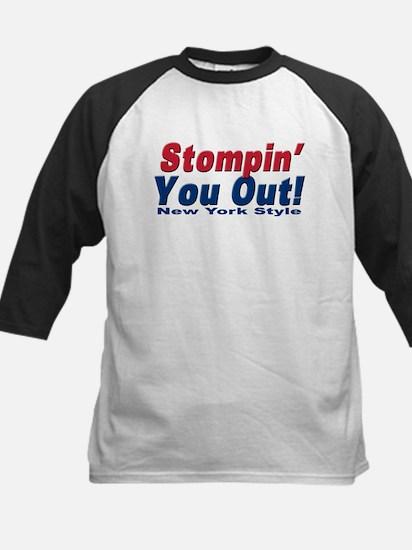 NY GIANTS Stompin you out Kids Baseball Jersey