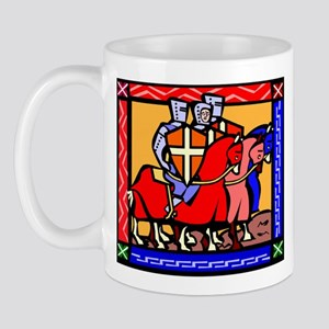 Knights Templar 11 oz Ceramic Mug
