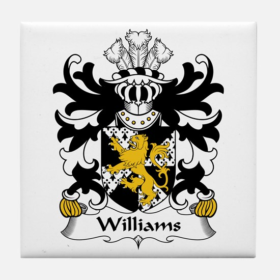 Williams (lordship of Usk, Monmouthshire) Tile Coa