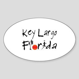 Key Largo Florida Sticker
